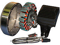 Cycle Electric Stator; S/Tail; FXD'07 Only & 06'FXD upgrade (see notes)
