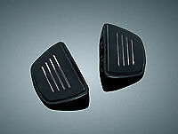 Kuryakyn 7579 Premium Mini Floor Boards NO Mount BLACK PAIR Suit Metric Cruiser