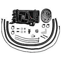 Jagg Oil Cooler Kit; Fan Assisted; FLH 99-08; 10-Row to suit Harley