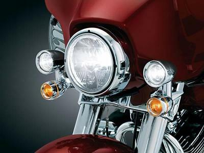 Kuryakyn Driving Accent Lights;Most FLH'97up Except Road Glide to suit Harley