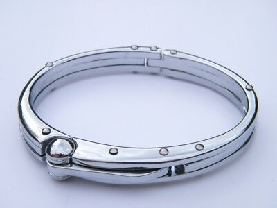 Handcuff  Stainless Steel 316L Wristband Men's Jewellery Bracelet L1