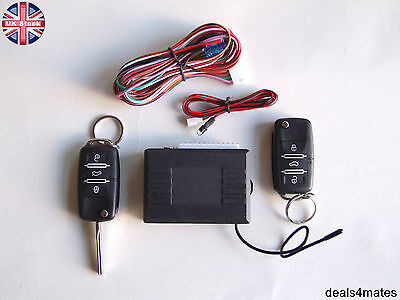 Remote Central Locking Kit HAA keys blank LED indicator fobs SKODA Fabia Octavia