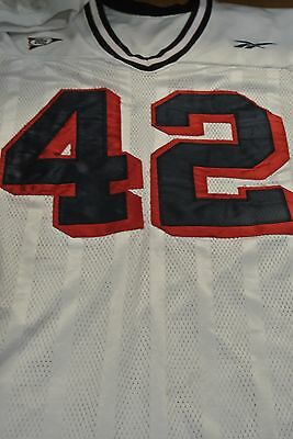 CONNECTICUT UNIVERSITY GAME Used Football Jersey Size Xl  42 ... 814e9aaea