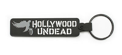 HOLLYWOOD UNDEAD Rubber Keychain Keyring Key Chain Key Ring