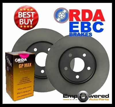 FRONT DISC BRAKE ROTORS + PADS for Holden Commodore VT VU VX VY VZ SV6 SV8 SS