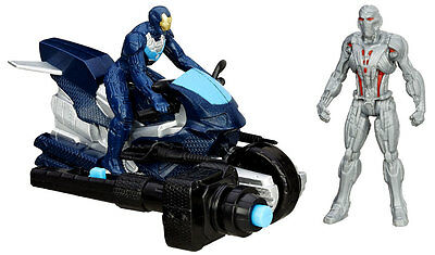 Marvel Avengers Age Of Ultron Ultimate Ultron Vs Iron Leader Iron Man With Cycle