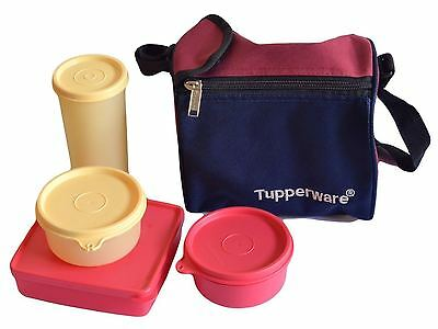 TUPPERWARE BEST LUNCH BOX WITH INSULATED BAG Free