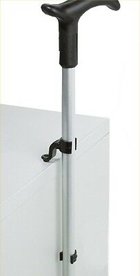 Quality Cane Holder Grip/Clip For Standing Walking Stick Upright Against Table