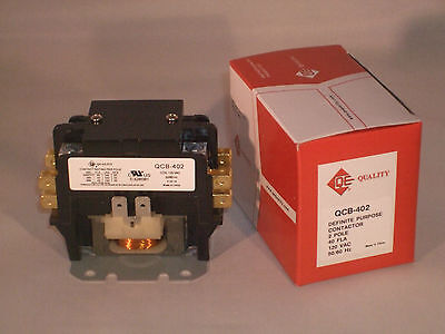 40 amp 2 pole 120 vac NEW Definite Purpose contactor relay HVAC FREE SHIPPING