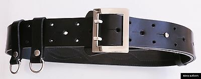 Nato 100% Natural Leather Military Army Police Gun Holster Bullhide Belt Clips