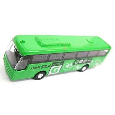Mica KOREA AERO KINGDOM G BUS DIECAST METAL Green