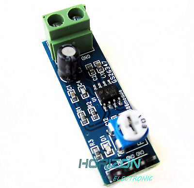 LM386 Audio Amplifier Module 200 Times Input 10K Adjustable Resistance 5-12V