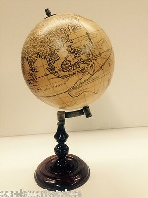 Authentic Models Trianon World Globe Antique Reproduction