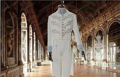 Cinderella Prince Charming Richard Madden Cosplay Costume Tuxedo Party Outfits