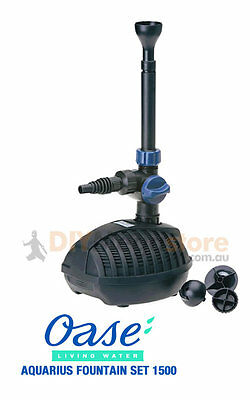 Oase Aquarius Fountain Set 1500 Pump