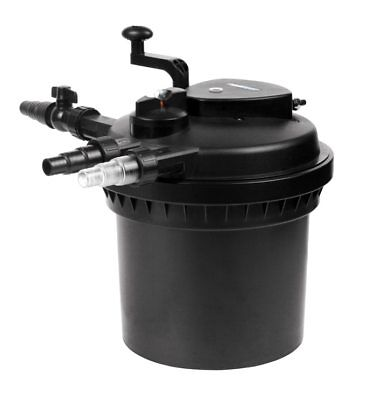 Garden Poly Pond Kit - Inc PondMax 4500 Pump & Multistage Pressure Filter