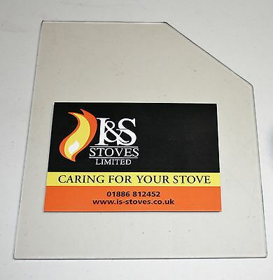 Yeoman Stove Replacement Glass with FREE Seal/Gasket - All Models