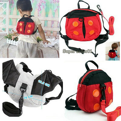 Baby Safety Items Hot Harness Strap Baby Keeper Toddler Ladybird Backpack Bag