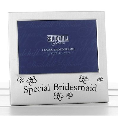 Special Bridesmaid Photo Frame Wdding Favour Gift Present THANK YOU KEEPSAKE