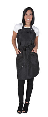 Betty Dain The Ultimate Apron Adjustable snap closure Lightweight Nylon Black