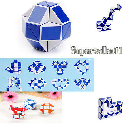 Little jigsaw puzzle magic puzzle snake shapes play toys 3D multi data set