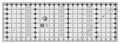 """Creative Grids 8 1/2"""" x  24 1/2"""" Rectangle Sewing and Quilting Ruler"""