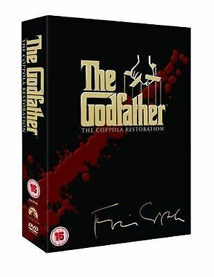 The Godfather Trilogy 5 Discs Marlon Brando,Al Pacino, James Caan New BoxSet DVD