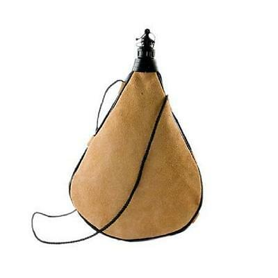 Leather Bota Bag Water Wine Skins Camping Hiking Canteen Drinking Gift 2 L Spain