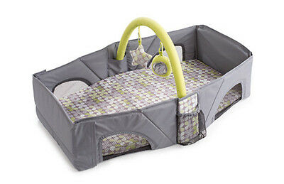 Summer Infant Deluxe Infant Travel Bed Portable Folding Crib Bassinet - 73227