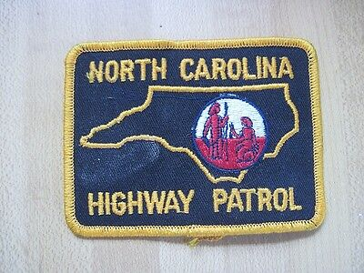 NORTH CAROLINA HIGHWAY PATROL PATCH