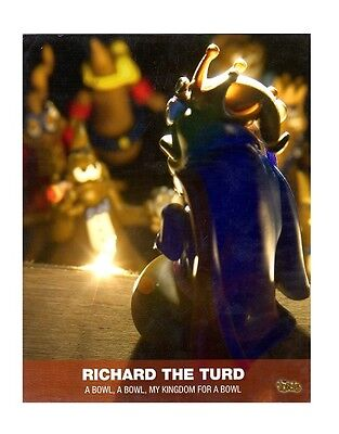 The Turds Movie Still - RICHARD THE TURD - Brand NEW in SEALED PACK LIMITED EDIT