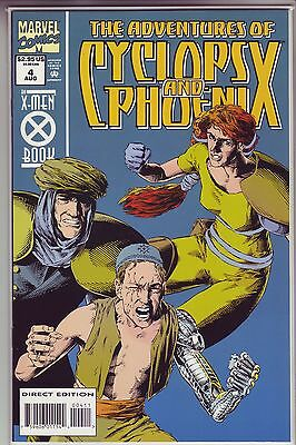 The Adventures of Cyclops and Phoenix #4 (Aug 1994, Marvel) - VF