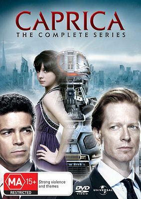Caprica: The Complete Series  - DVD - NEW Region 2, 4