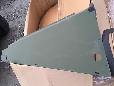 Military M1114 M1025 HMMWV AC inner cover plate.