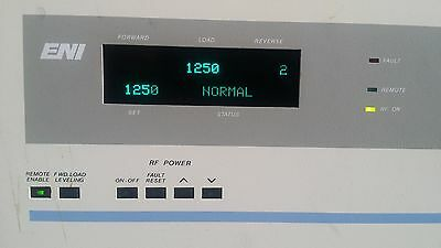 Eni  Oem-1250 Rf Generator Oem-1250M5 Tested Working  Free Ship