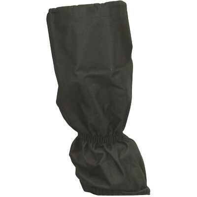 Highlander Classic Security Gaiters Waterproof Hiking Footwear Zip Cover Black