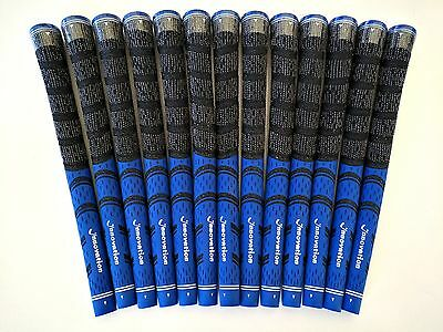NEW 13 Innovation Multicompound Decade 1/2 Cord Std Grip Grips Pride Blue/Black