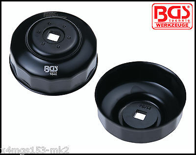 BGS - 76 mm x 14 Point - Oil Filter Cup Wrench VW, Merc, BMW, Audi Etc - 1046