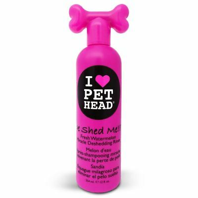 Pet Head Dog Puppy De Shed Me Rinse Shampoo – Removes Excess Hair