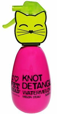 Pet Head Cat Kitten Knot Detangler Watermelon Spray – Removes Matts Tangles