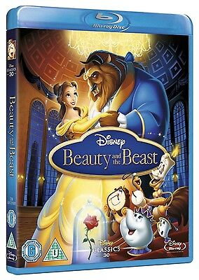 Beauty and the Beast [Blu-ray] Disney Classic Brand New FACTORY SEALED