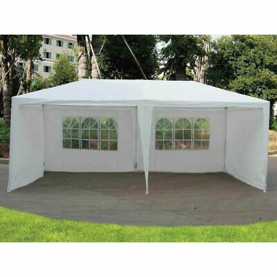 3M X 6M Garden Gazebo Tent Marquee Outdoor Waterproof Party Awning Canopy Patio