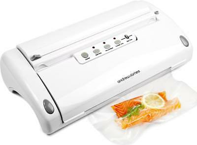 Andrew James Food Vacuum Sealer Professional 5 in 1 Machine with Rolls Included
