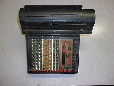 Marchant Calculator, Very old Vintage, with Cover ACR8M-208272