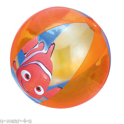 DISNEY FINDING NEMO INFLATABLE BEACH BALL CHILDRENS SUMMER HOLIDAY FUN