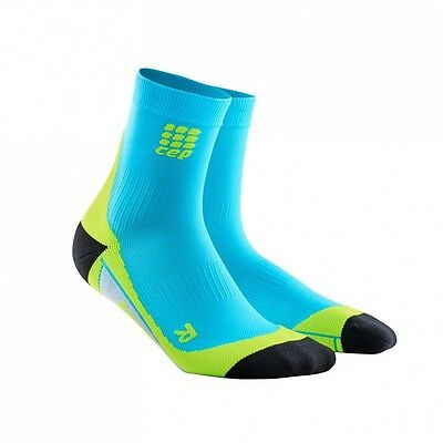 CEP Short Socks Cushion Compression Support Sport Running Gym Ankle Arch Fitness