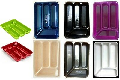 4 Compartment B-Line Cutlery Tray Organiser Tidy Holder Storage Insert Drawer