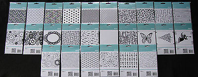 "Kaisercraft 'EMBOSSING FOLDERS' 4X6"" Card Making (Choose from 64 Designs) KAISER"