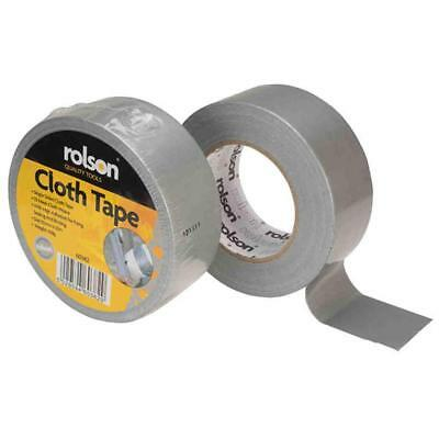 Strong Duct Gaffa Gaffer Waterproof Cloth Tape Silver 50mm x 50m - 1 Roll