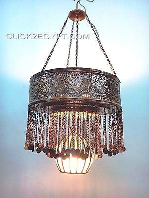 BR364 Downlight Mouth-Blown Glass / Brass Decorative Chandelier